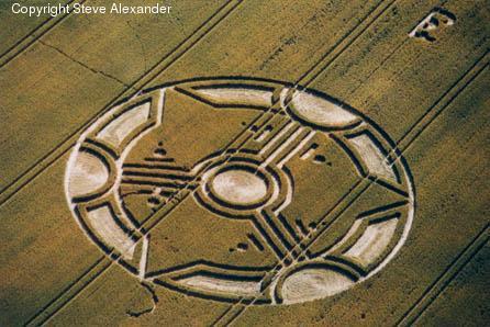 Rrathët në Grurë ose Crop Circle Attachment