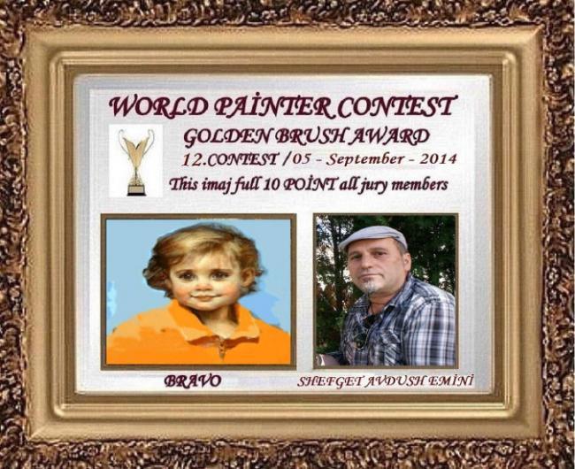 Emri:  95. WORLD PA?NTER CONTEST Golden Brush Award 05 - september - 2014.jpg  Shikime: 1181  Madhësia:  74.8 KB