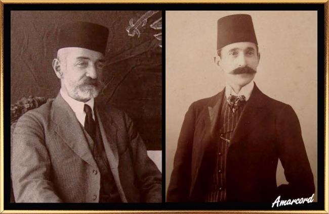 Emri:  Aqif pashë Biçakçiu Elbasani dhe Abdi bej Toptani.jpg  Shikime: 1189  Madhësia:  34.5 KB
