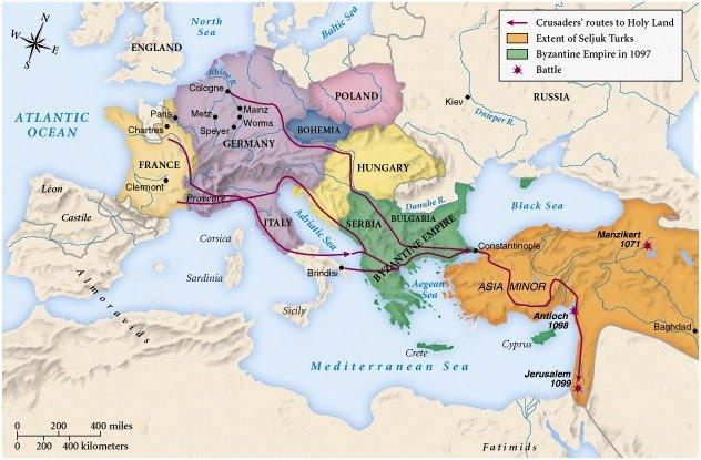 Emri:  First Crusade Map.jpg  Shikime: 554  Madhësia:  80.2 KB