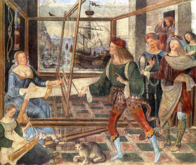 Emri:  Pinturicchio,_Return_of_Odysseus.jpg  Shikime: 223  Madhësia:  87.0 KB