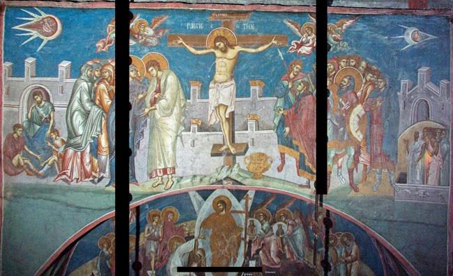 Emri:  Crucifixion_of_Christ-Dečani_Monastery.jpg  Shikime: 2169  Madhësia:  169.1 KB